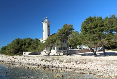 Phare de l'Île de Vir. Photo © André M. Winter