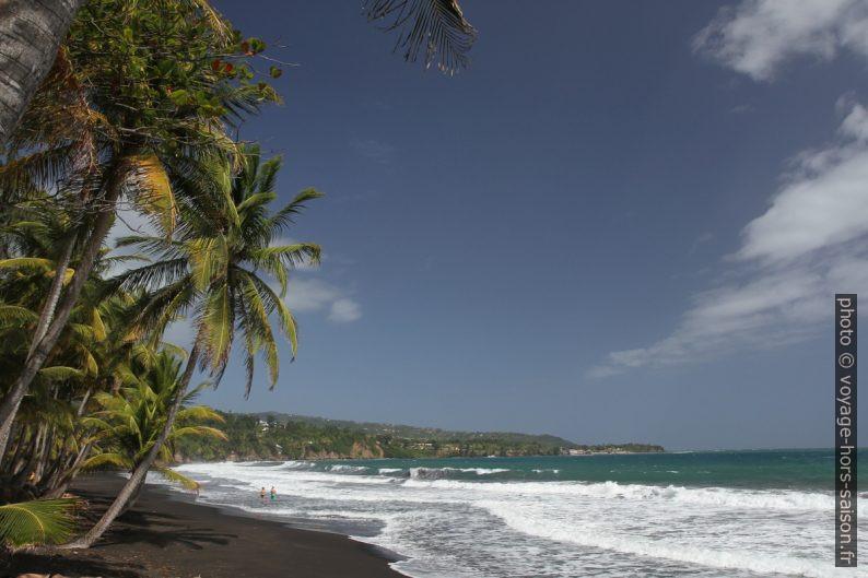 Plage et Pointe de la Grande Anse de Capesterre. Photo © Alex Medwedeff