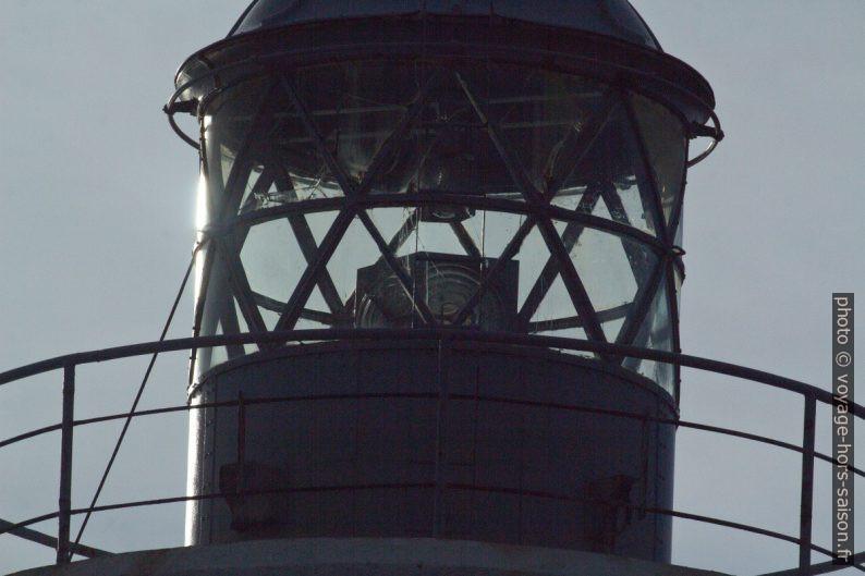 Lanterne du Phare de Vieux-Fort. Photo © André M. Winter