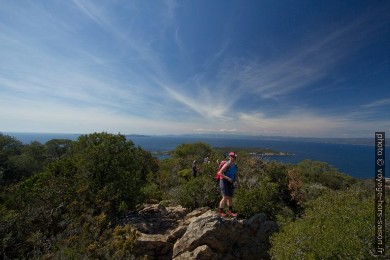 Vue des rochers du Mont Vinaigre vers l'ouest. Photo © André M. Winter