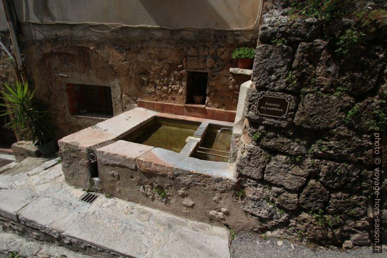 Fontaine des Audiffren. Photo © André M. Winter