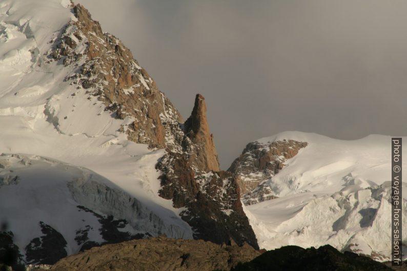 Aiguille de Saussure, 3839 m, vue en 2008. Photo © André M. Winter