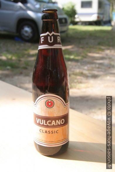 Bière danoise Vulcano Classic. Photo © André M. Winter