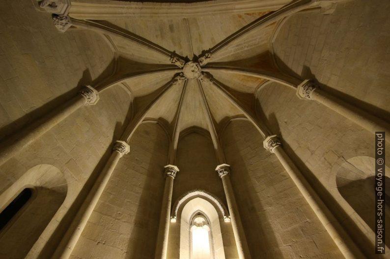 Voûtes du chœur de la Grande Chapelle du Château de Tarascon. Photo © André M. Winter