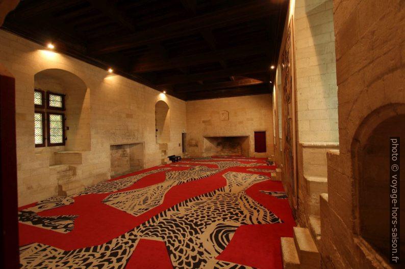 Salle des festins du Château de Tarascon. Photo © André M. Winter