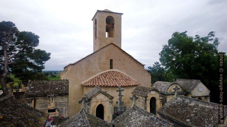 Chapelle St. Marcellin vue du cimetière. Photo © André M. Winter
