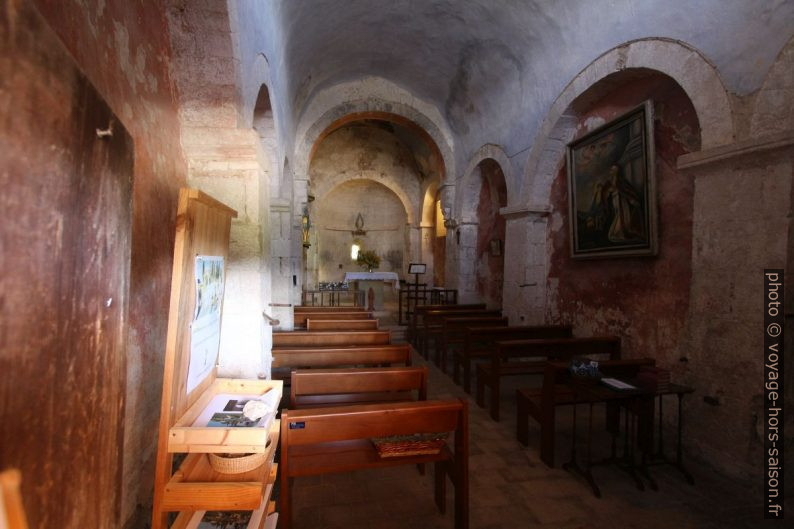 Nef austère de la Chapelle St. Sixte. Photo © André M. Winter