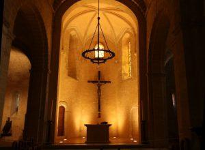 Chœur de l'Église St. Laurent. Photo © André M. Winter