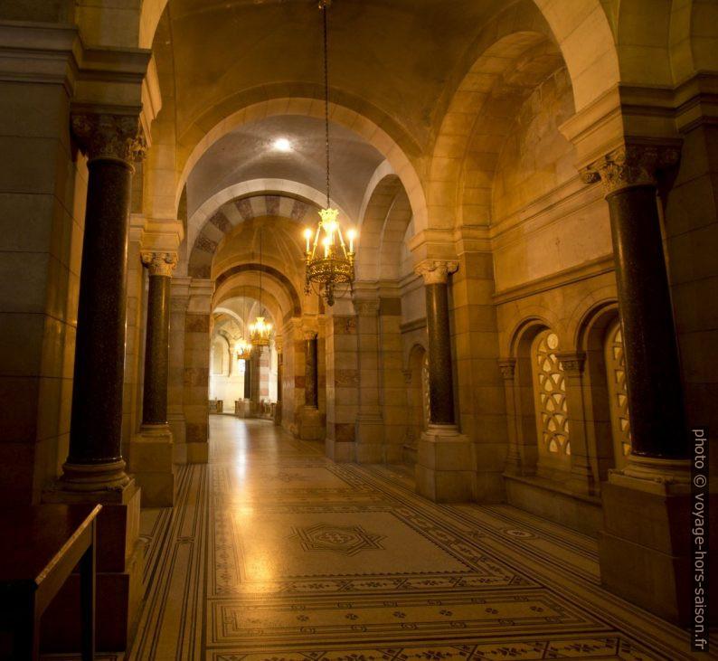 Déambulatoire de la Cathédrale la Major. Photo © André M. Winter