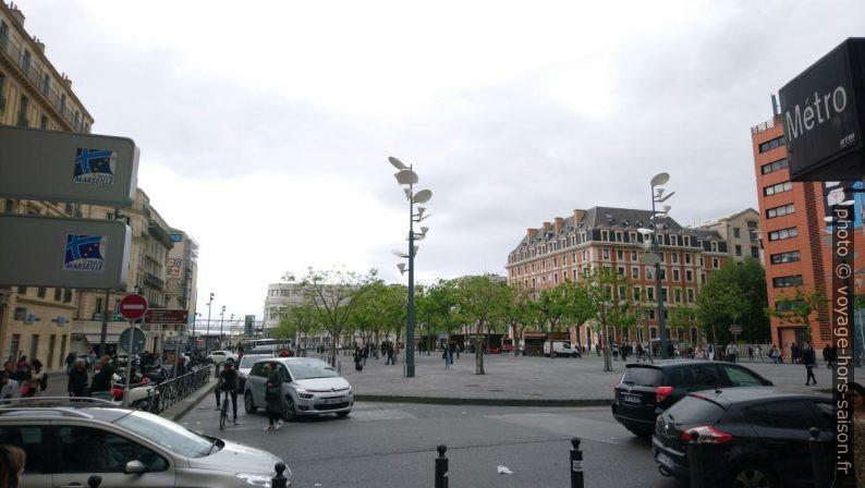 Place de la Joliette. Photo © André M. Winter