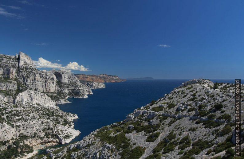 Calanques de Marseille et le Cap Canaille. Photo © André M. Winter