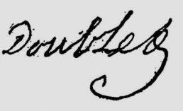 Signature de Doublet