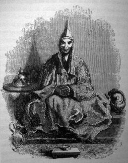 Le grand lama du Monastère de Kumbum