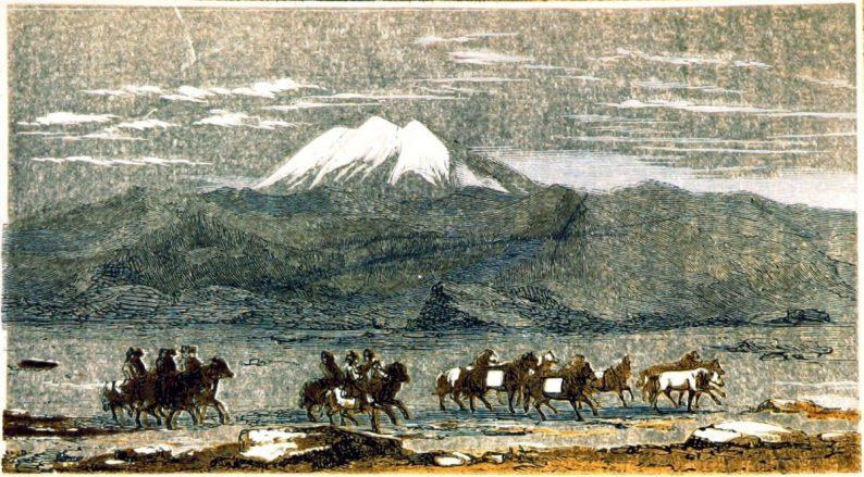Le volcan Hekla, tiré de la version anglaise