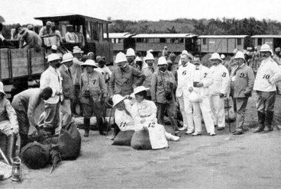 Visite de députés allemands dans la colonie