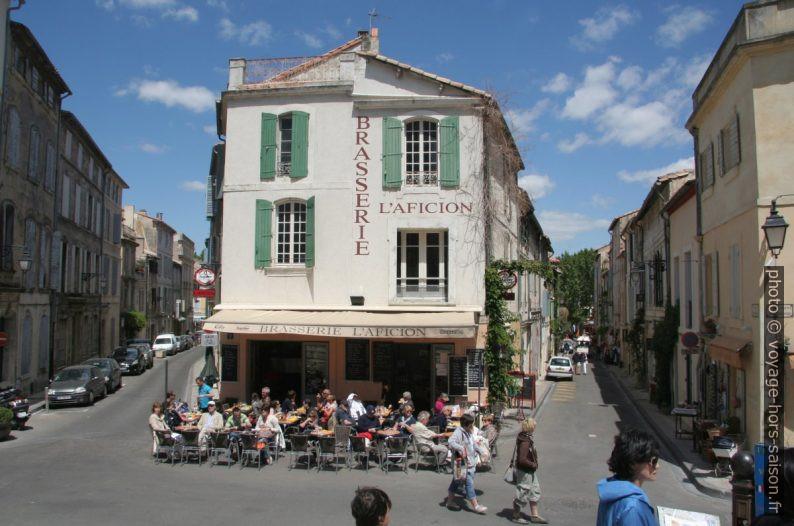 Brasserie l'Aficion. Photo © André M. Winter