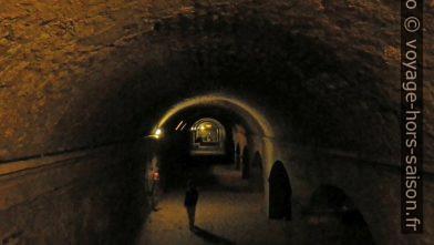 Cryptoportiques du Forum romain d'Arles. Photo © André M. Winter