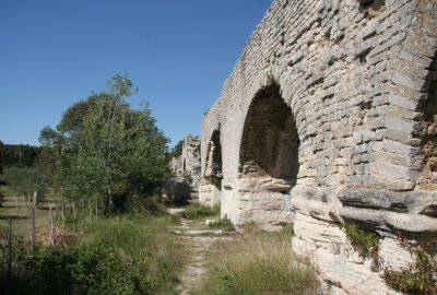 Aqueduc de Barbegal. Photo © André M. Winter