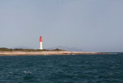 Nouveau Phare de Cap Couronne. Photo © André M. Winter