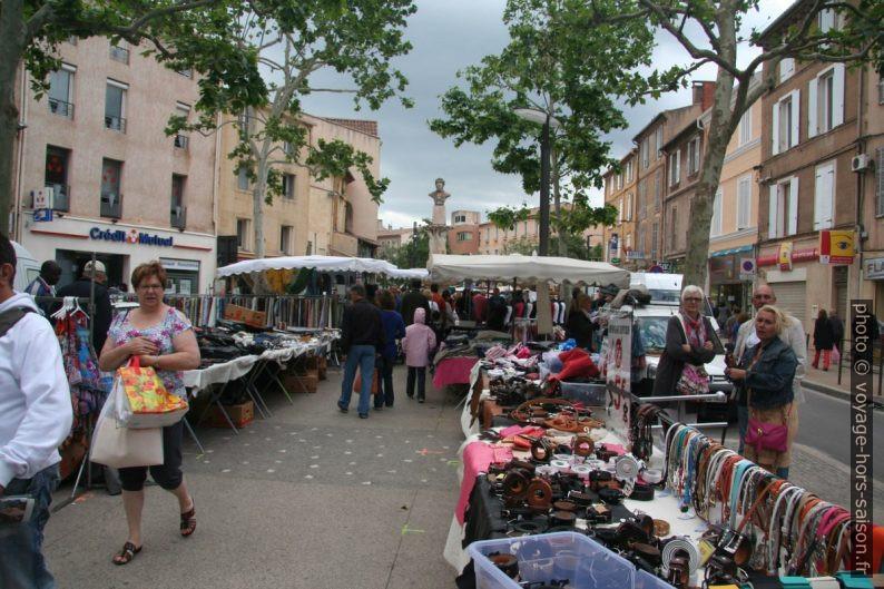Sur le marché de Gardanne. Photo © André M. Winter