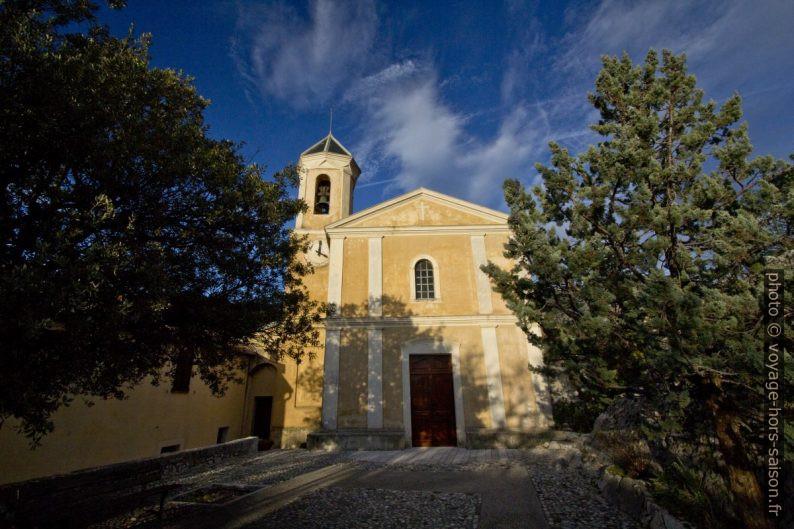 L'église de la Transfiguration à Peillon. Photo © André M. Winter