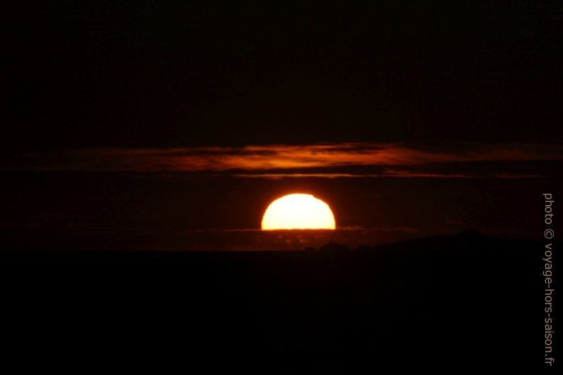 Coucher de soleil. Photo © André M. Winter