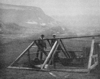 Abri dans l'Adventfjord