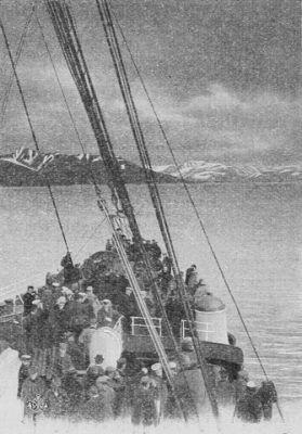 Arrivée au Adventfjord (Adventbay)