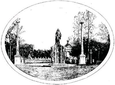 Statue du Dupleix à Pondichéry