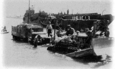 Le Débarquement à Cavalaire. Photo CCSA3 Wikimedia Guyom70
