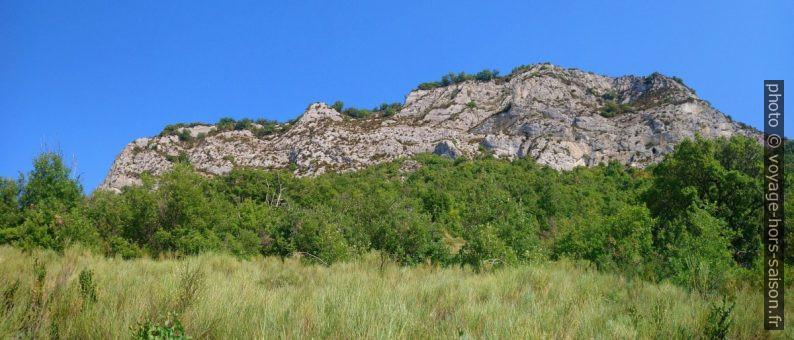 Crête sommitale de la Montagne de la Baume. Photo © André M. Winter