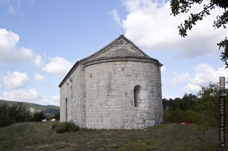 Chapelle St. Didier de Comps-sur-Artuby. Photo © André M. Winter