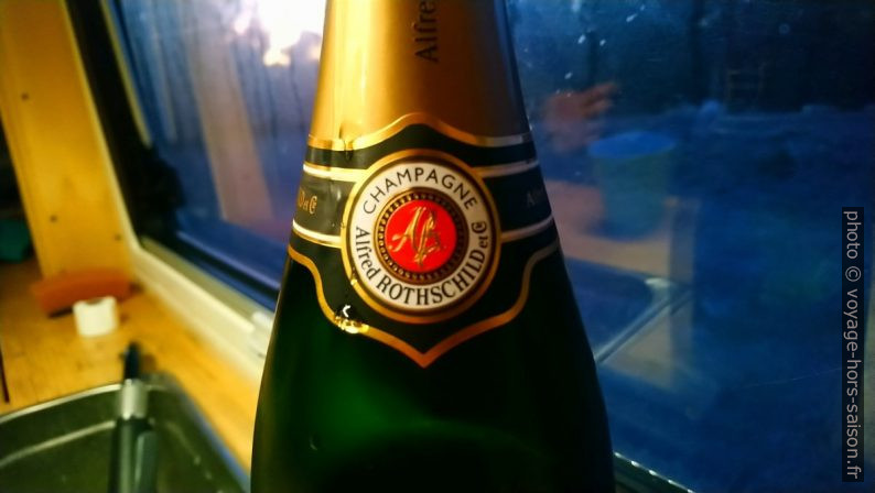 Champagne Rothschild. Photo © André M. Winter