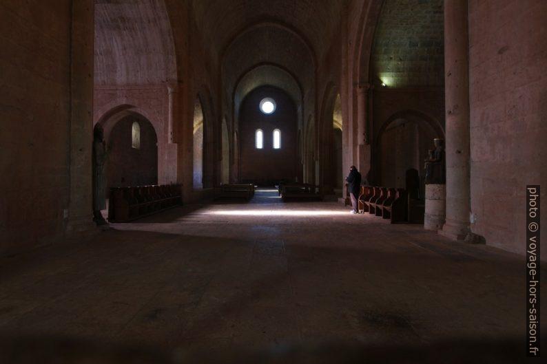 Croisée du Transept de l'église abbatiale du Thoronet. Photo © André M. Winter