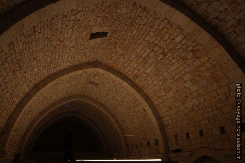 Voûte du cellier de l'Abbaye du Thoronet. Photo © André M. Winter