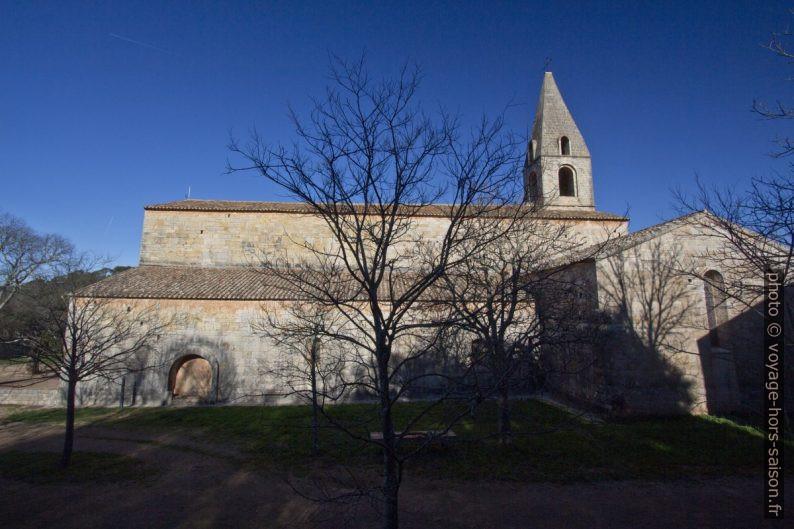 Façade sud de l'Abbaye du Thoronet. Photo © André M. Winter