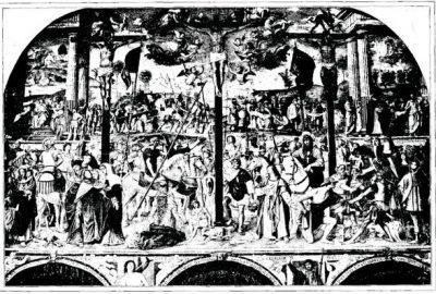 Passion et Crucifixion de Bernardino Luini