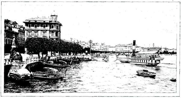 Quais de Lugano