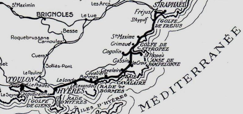 Ligne du littoral Varois des Chemins de Fer de Provence