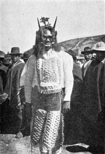 Fête indienne en Bolivie