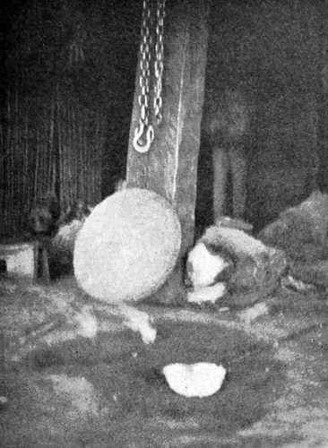 Intérieur d'une hutte ruca mapuche