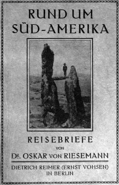 Titre du livre de Riesemann