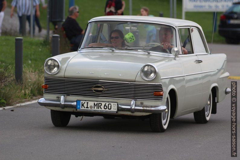 Opel Rekord P2 berline deux portes. Photo © André M. Winter