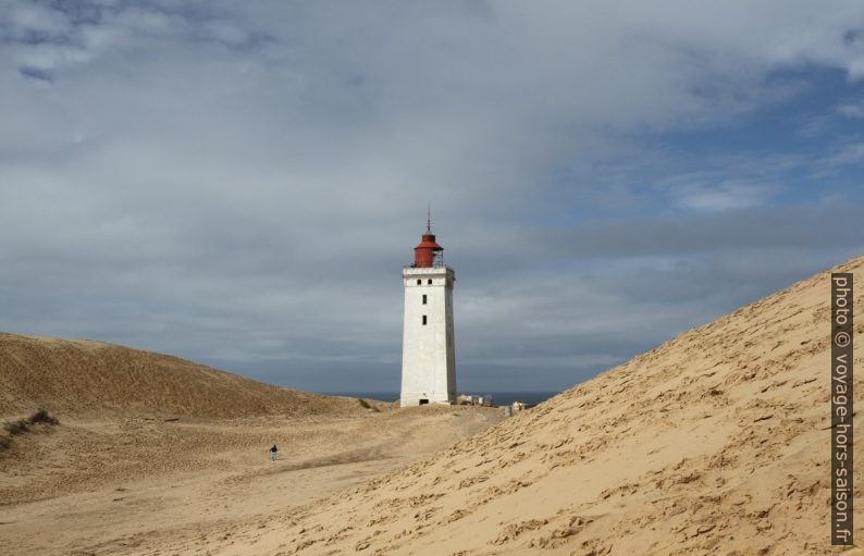 La dune Rubjerg Knude et le pharet. Photo © Alex Medwedeff