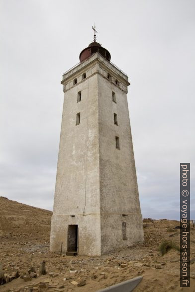 Vieux phare désarmé de Rubjerg Knude. Photo © André M. Winter