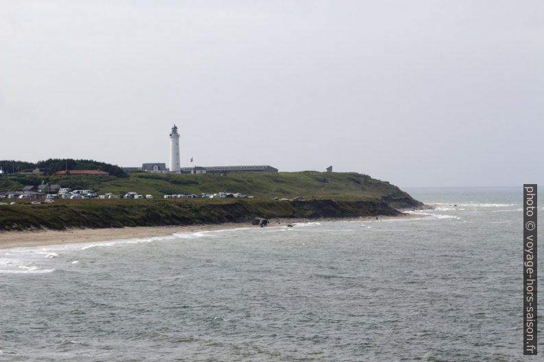 Plage et phare de Hirtshals. Photo © André M. Winter