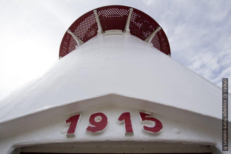 Lindesnes Fyr construit en 1915. Photo © André M. Winter