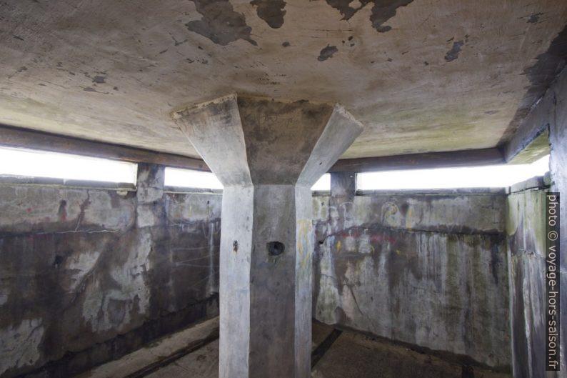 Bunker du Mur de l'Atlantique sous le phare de Lindesnes. Photo © André M. Winter