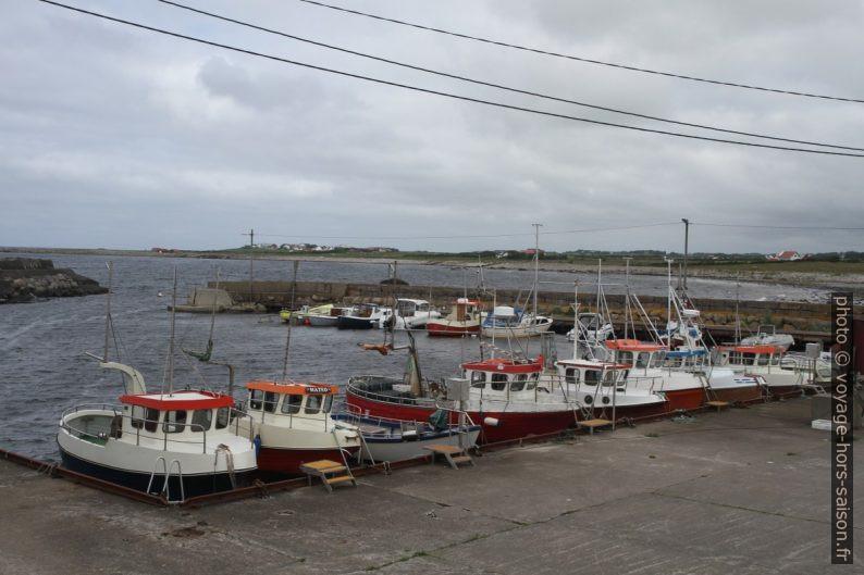 Port Kvassheimhamna dans la baie Øyrvika. Photo © Alex Medwedeff