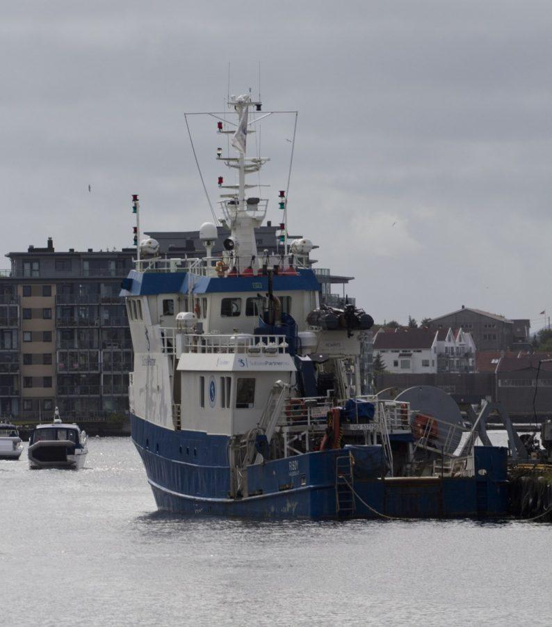 Bateau d'assistance à la plongée industrielle Risøy à Haugesund. Photo © André M. Winter